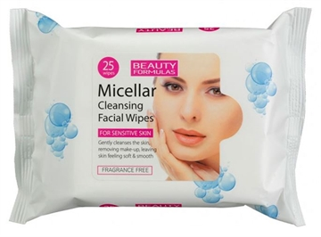 Beauty Formulas Facial Wipes Micellar 25S