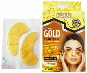 Beauty Formulas Gold Eye Gel Patches 6S