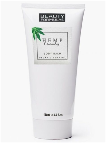 Beauty Formulas Organic Hemp Body Balm 150ml