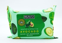 Beauty Formulas Avocado Make Up Remover Wipes 25'S