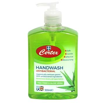 Certex Antibac Hand Wash Refill Tea Tree&Aloe  500ml