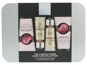 The Body Shop Rose and Almond Hand Cream Set 120ml
