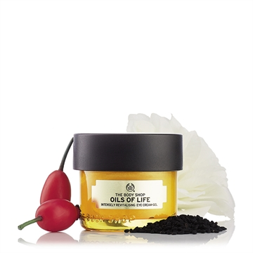The Body Shop Oils of life - Intensely revitalising eye cream-gel 20ml