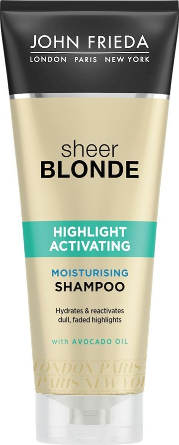 John Frieda Sheer Blonde Ighlight Activating Shampoo 250ml