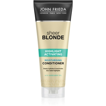 John Frieda Sheer Blonde Highlight Activating Moisturizing Conditioner 250ml