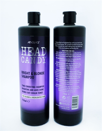 Head Candy Shampoo Bright & Blonde 750ml