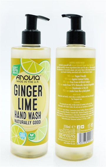 Anovia Handwash Ginger Lime 350ml
