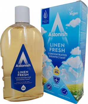 Astonish Linen Fresh Concentrated Disinfectant 500ml