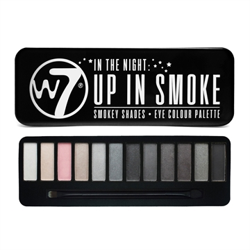 W7 Cosmetics Eye Colour Palette In the Night - Up in Smoke