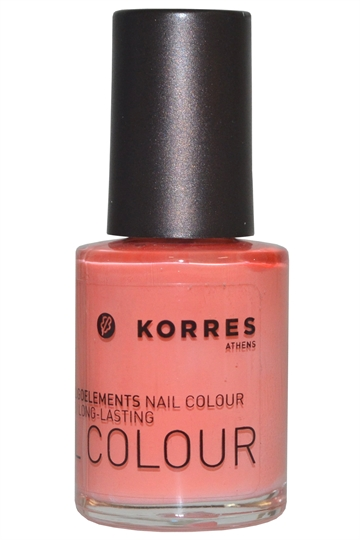 Korres Nail Color High Shine Long Lasting 10ml Mango Sorbet (#42) [Free From 7]