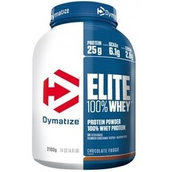 Dymatize Elite Whey - 2100g - chocolate fudge