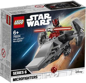 LEGO Star Wars TM 75224 Sith Infiltrator™ Microfighter