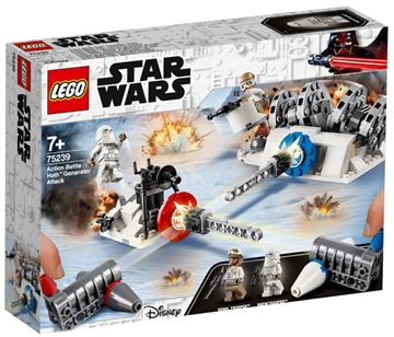 LEGO Star Wars TM 75239 Action Battle Hoth™ Generator Attack