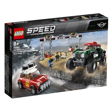 LEGO Speed Champions 75894 1967 Mini Cooper S Rally and 2018 MINI J