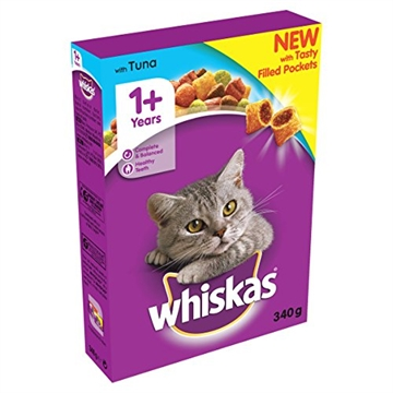 Whiskas Cat Complete Tuna  340Gm