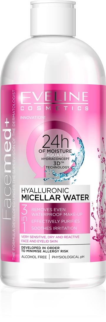 Facemed+ Hyalluronic Micellar Water 400ml