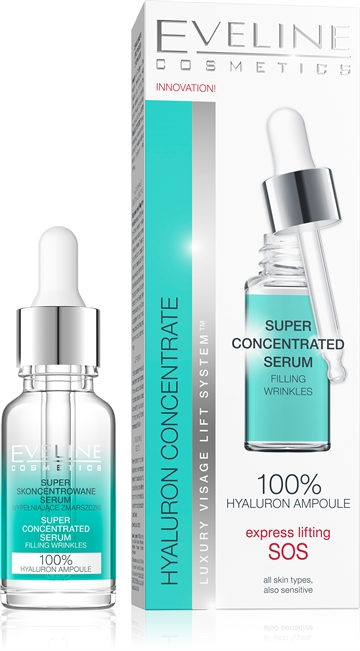 Eveline Hyaluron&Collagen Super Concentrated Serum  18ml