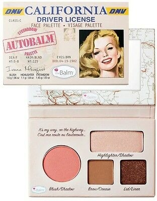 The Balm Autobalm Face Palette 4,15gr Autobalm CALIFORNIA