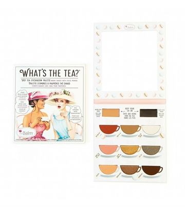 The Balm What's the Tea? Eyeshadow Palette 12,6gr What's the Tea? Hot Tea Eyeshadow Palette