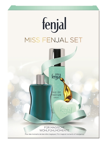 PP Fenjal miss fenjal EDP 75ml + bath oil 50ml +