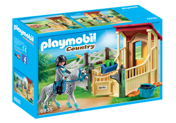 Playmobil Hästbox Appaloosa 6935