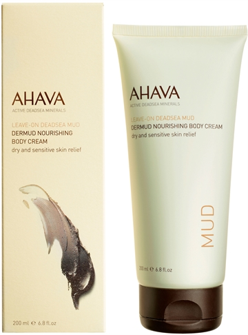 AHAVA Deadsea Mud Dermud Nourishing Body Cream 200ml