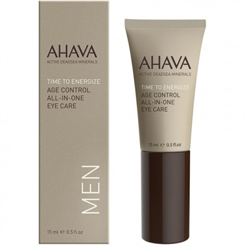 Ahava Time To En. Men Age Cont. All-In-One Eye Car 15ml