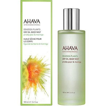 AHAVA Deadsea Plants Dry Oil Body Mist 100ml Prickly Pear & Moringa