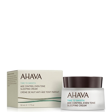 Ahava Time To Smooth Age Control Even Tone Sleeping Cream 50 ml