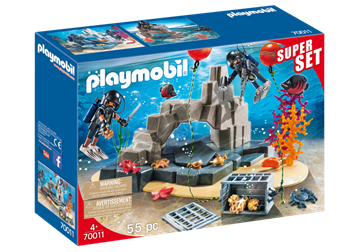 Playmobil SuperSet Dyk med insatsstyrkan 70011