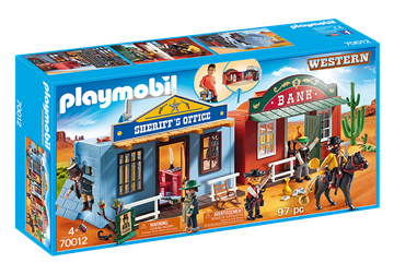 Playmobil Take Along Western City 70012