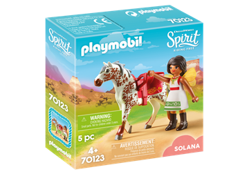 Playmobil Vaulting Solana 70123