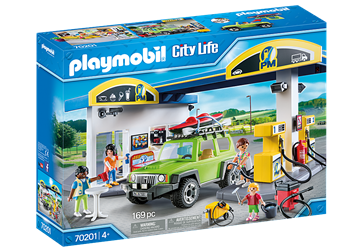 Playmobil City Life Gas Station  70201