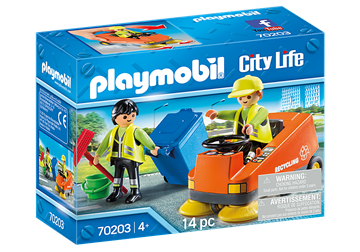 Playmobil City Life Street Sweeper 70203