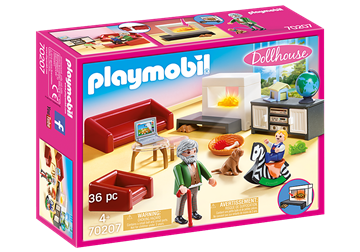 Playmobil Dollhouse Comfortable Living Room 70207