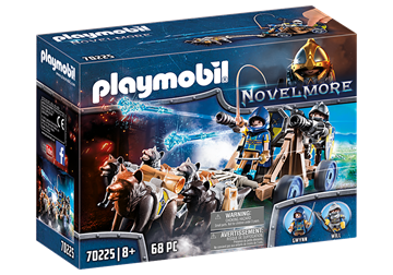 Playmobil Wolfhaven Knights' Water Cannon	70225