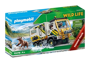 Playmobil Outdoor Expeditionslastbil 70278