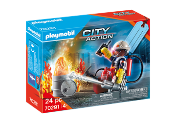 "Playmobil Fire Rescue Present set ""Brandkår"" 70291"