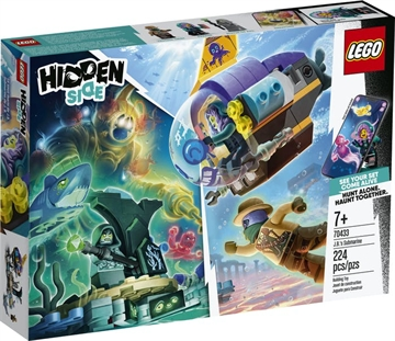 LEGO Hidden Side 70433 J.B.'s ubåd