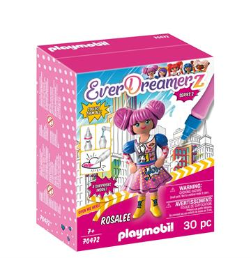 "Playmobil Rosalee ""Comic World"" 70472"