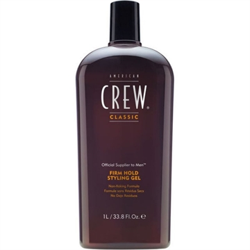 American Crew Styling Gel - Firm Hold Bottle 1000ml