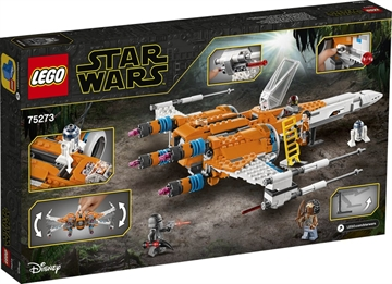 LEGO Star Wars 75273 Poe Damerons X-wing-Fighter