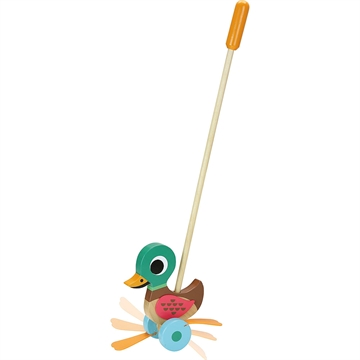 Duck push toy