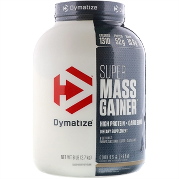 Dymatize Super Mass Gainer 2.9kg cookies & cream