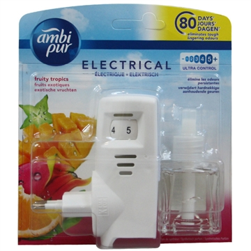 Ambipur electric diffuser + refill 20 ml. Tropical fruit