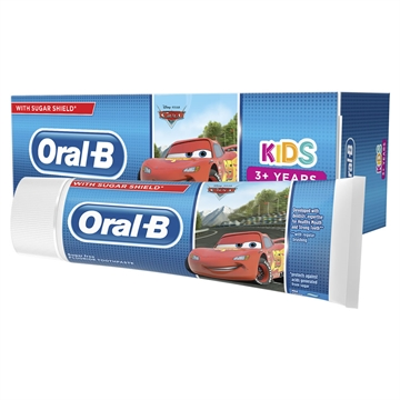 Oral B Toothpaste Cars/Frozen 3+Yrs  75ml