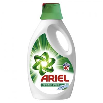 Ariel Gel Mountain Spring 40 Washes 2,2L