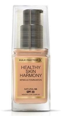 Max Factor Healthy Skin Harmony Miracle foundation Natural 50 30ml