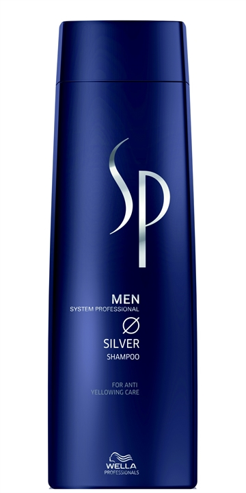 Wella System Professional Men Silver Shampoo 250ml