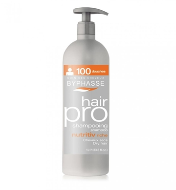 Byphasse Professional Shampoo 1000 ml Nutritive Dry Hair